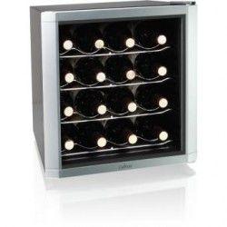 Gabinete termoeléctrico, refrigerador para 16 botellas vino Culinair