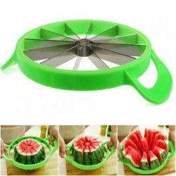Rebanador Descorazonador De Frutas Melon Sandia Verde