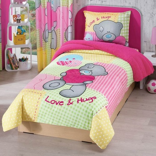 Cobertor Borrega Teddy Bear Individual 43ad62dd99600