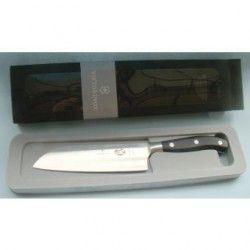 Cuchillo Santoku Victorinox 7.7303.17G Forjado 17cm Negro