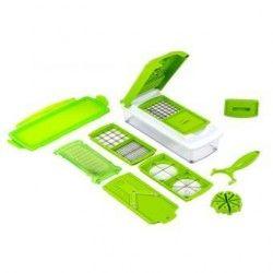 Rayador de Verduras Nicer Dicer Plus-Verde