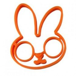Duola Little Rabbit Shape Omelette Egg Frying Silicone Mould