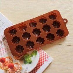 Molde de hornear galletas de chocolate para hornear moldes de flores de hielo molde molde