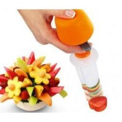 Cortador De Frutas Y Verduras En Figuras Pop Chef
