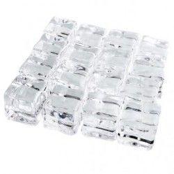 Duola Magia del falso acrílico hielo cubos juego de 16