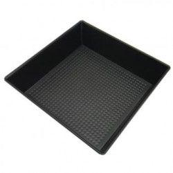 Molde de silicona para hornear moldes cuadrados de chocolate para hornear galletas molde.