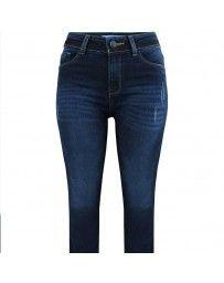 Jeans con Desgarre Natural