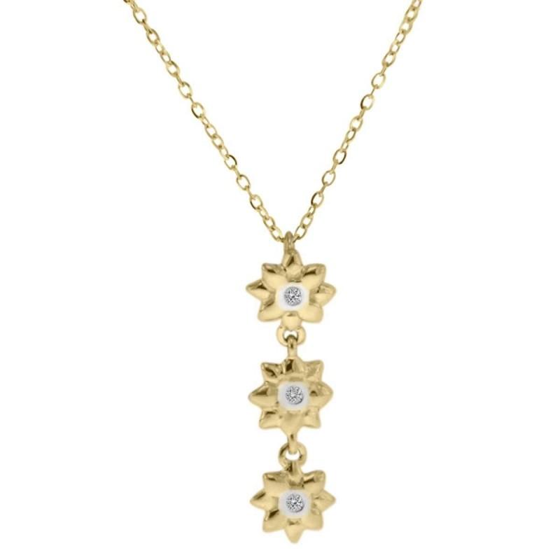 b50d7057587e Dije Fianelli con Balerina en Oro Amarillo 14K con Diamante de 3 Pu...