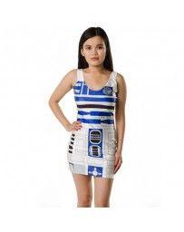 Vestido Robot Galaxia Guerra