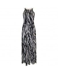 Vestido Largo Cuello Halter By Hollywood Nites