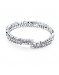 Pulsera Diamonds & Pearls, Cristal Sun with Swarovski