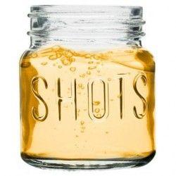 Set De 4 Shots Mason Jars Con Capacidad Para 5 Oz Bar