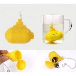 Submarino amarillo Difusor colador de té-Amarillo