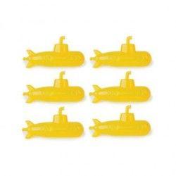 Cubitos de hielo con forma de submarino reutilizable Kikkerland CU28