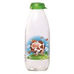 """Botella p/ Leche de 1.0 lt.,Herevin,""""Milky"""",,Verde"""