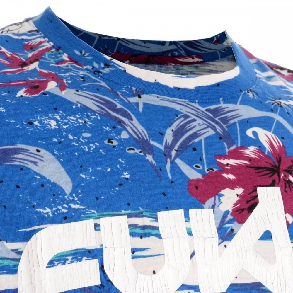 a0ec81fc10847 Playera Print Floral Fukka