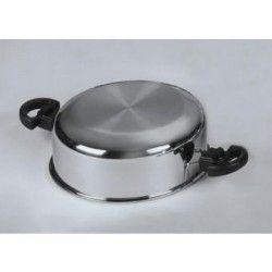 Utensilio de Cocina Classica Gold Tapa Domo de 6 Qts/Sarten de 11.5 Acero Inoxidable