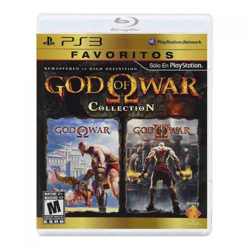 PS3 Juego God Of War Collection (I y II) Para PlayStation 3