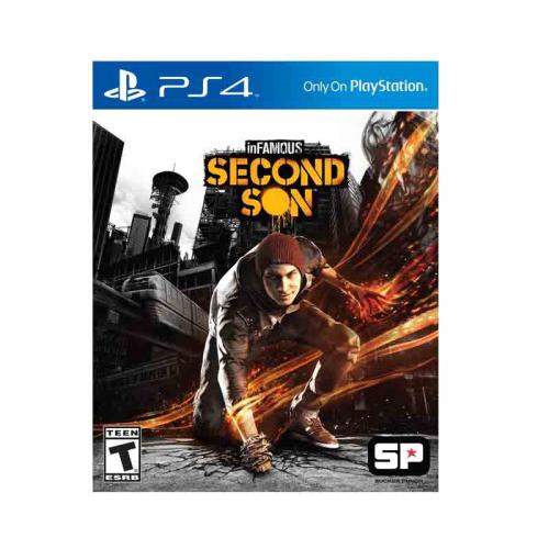 PS4 Juego inFamous Second Son Para PlayStation 4