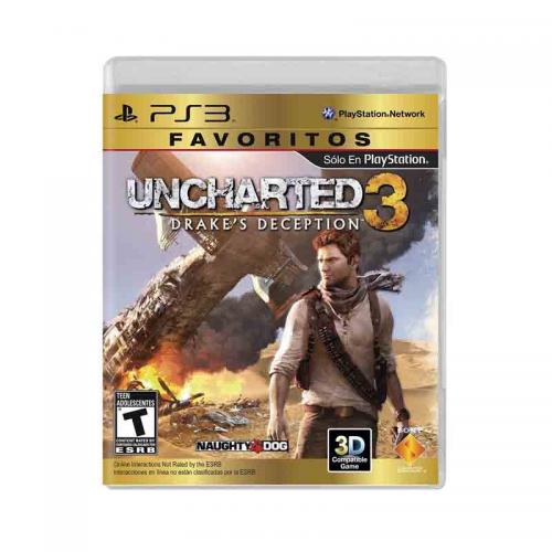 PS3 Juego Uncharted 3 Para PlayStation 3