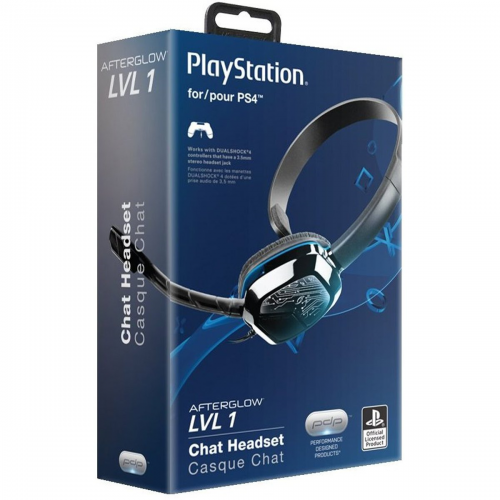 Ps4 Afterglow Lvl 1 Headset
