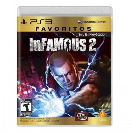 PS3 inFamous 2 - PlayStation 3 - Standard Edition