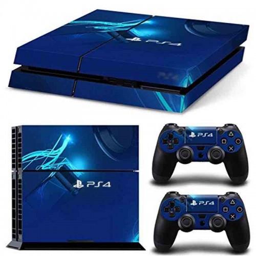 PS4 Vinyl Skin Estampas Compatible Con La Cónsola PlayStation 4 y Para 2 Controles PlayStation 4 (PS4)