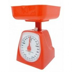 Báscula de Cocina 5 Kg Naranja