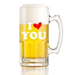 Tarro De Cerveza I Love You