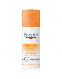 Eucerin SUN CC Cream Medio SPF50 mas  50ML