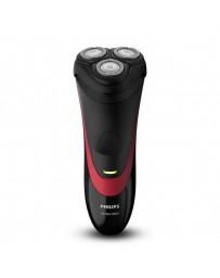 Rasuradora Eléctrica Philips S1310/04 Shaver Series1000 Rojo