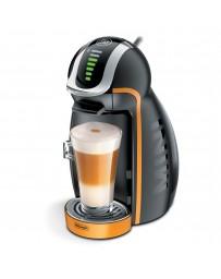 Cafetera Mini Copper Negra Naranja
