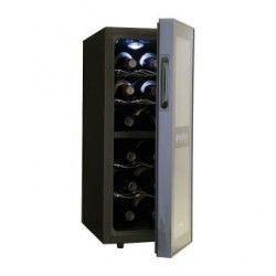 Enfriador de Vinos Haier Modelo HVTM12DABB, Capacidad 12 Botellas