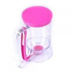 DIY Manual pastel mantequilla Dispensador Embudo líquido herramienta de dispensación taza de medir Con Medición Discográfica