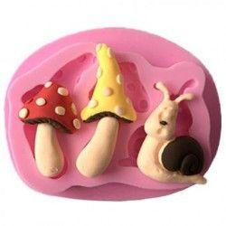 Molde de silicona torta, galletas de chocolate para hornear el molde, molde de la bandeja de cubitos de hielo, Cake Decorating