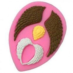 Nuevo diseño encantador pastel galleta fondant de chocolate Decoracion de la torta del molde molde de silicona molde de hornear