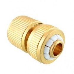 Duola manguera agua conector tubo (oro)