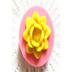 Moldes de silicona para hornear moldes para flores de fondant dulces pastel de chocolate.
