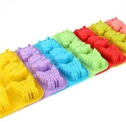6 tazas de galletas de chocolate para hornear moldes de animales para hornear molde molde molde de hielo.