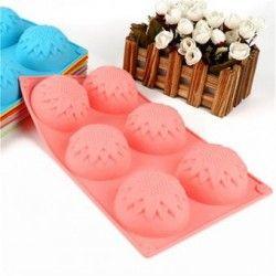 Molde de hornear galletas de chocolate para hornear moldes de flores de hielo molde molde.