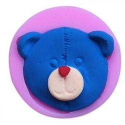 Nueva llegada de moda de silicona molde de galleta de chocolate pastel de molde Bandeja Stick fiesta Lollipop