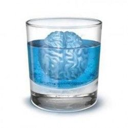 DIY cerebro en forma de bandeja de hielo del molde