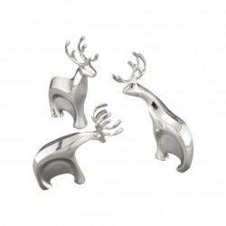 Set de 3 renos decorativos MT0384 Metal