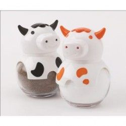 "Salero de 60 cc,Herevin,""Cow"",,"