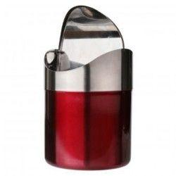 Acero inoxidable 1.5L Mini Encimera Cocina Residuos compartimiento de polvo