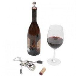 Sacacorchos y el Vino Vertedor Stopper Set