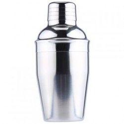 Mezclador de vino Stainless Steel Cocktail Shaker Wine Mixer-Plateado