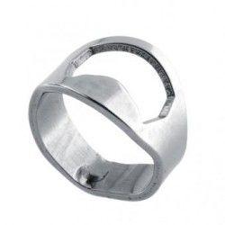 Generico Stainless Steel Ring Shape Bottle Opener