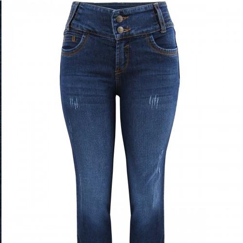 Jeans con Deslavado Natural