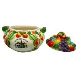 Frasco (Frutas) 15X17cm Decore-Multicolor